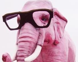 Hadoop pink elephant
