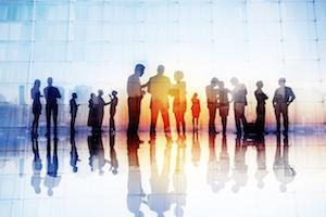 enterprise work people coworkers team future