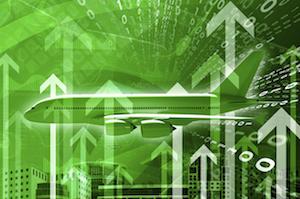 revenue green increase up arrows
