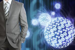 big data executive businessman suit