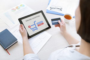 retail shopping online credit card