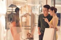 sale shopping retail window customer