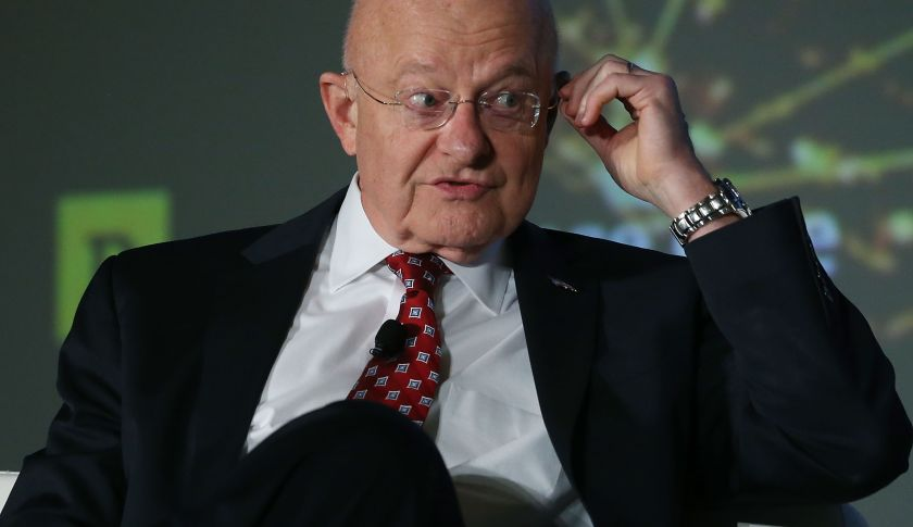 WASHINGTON, DC - NOVEMBER 02: Director of National Intelligence James Clapper speaks about threats to the US during the Defense One annual Summit November 2, 2015 in Washington, DC. Clapper spoke about what should be a priority to the US in the ageÊevolving threats.  (Photo by Mark Wilson/Getty Images)