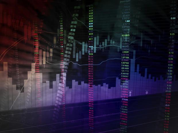 stock market chart analysis image